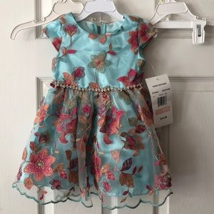 NWT Rare editions dress size 2t
